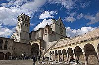 Building of the Basilica of St Francis commenced two years after the death of St. Francis