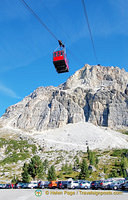Lagazuoi cable car