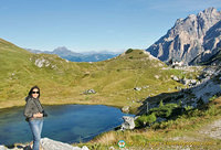 Dolomites - Valparola Pass and Lake