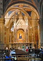 The altar of Orsanmichele