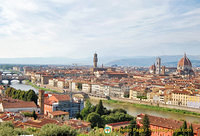 Piazzale Michelangelo offers magnificent panoramic views of Florence