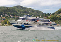Lake Como hydrofoil ferry