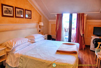 Our room at the Grand Hotel Dino in Baveno