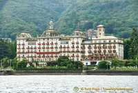 Grand Hotel Des Iles Borromees on Stresa