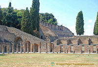 View towards the Teatro Grande, the large Pompeii theatre