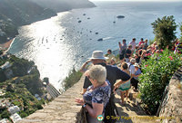Viewpoint to Positano - this is where everyone stops before arriving at Positano