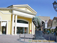 Castel Romano Outlet shops