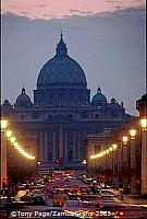 St Peter's and the Vatican
