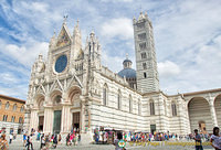 The stunningly beautiful Siena Cattedrale