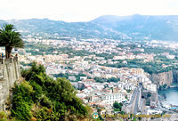View of Sorrento town