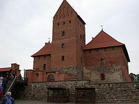 Trakai Ducal Palace and its donjon