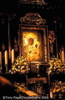 Pilgrims come to Jasna Góra mainly to see the icon of Our Lady of Czestochowa
