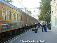 Train No 1, The Riga Express