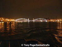 Peter the Great Bridge - St Petersburg