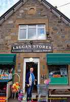 Tony's on a mission to look for Guinness in Laggan Stores