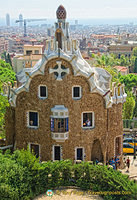 One of my favourite buildings at Parc Guell