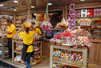 A sweet shop on Las Ramblas