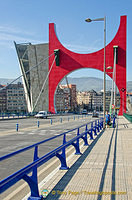 Red Arches of the Puente de la Salve