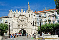 Arco de Santa Maria - the medieval gateway to Burgos