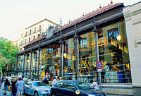Mercado de San Miguel is just off Plaza Mayor