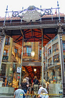 Mercado de San Miguel is a good place to experience tapas in Madrid