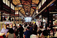 A very busy Mercado San Miguel