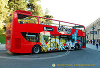 Madrid sightseeing bus